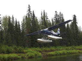 Air Transportation Alaska Deshka Wilderness Lodge