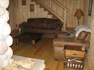 Deshka Wilderness Lodge Living Room